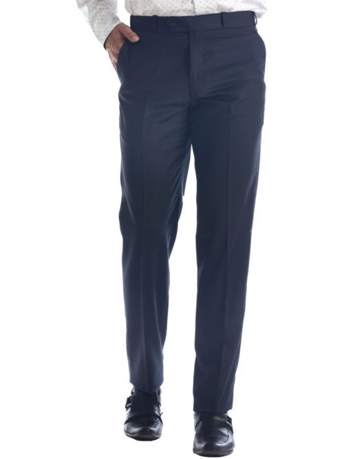 Navy Blue Formal Dress Trouser