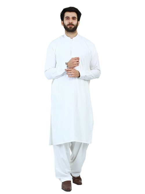 Off White Shalwar Kameez
