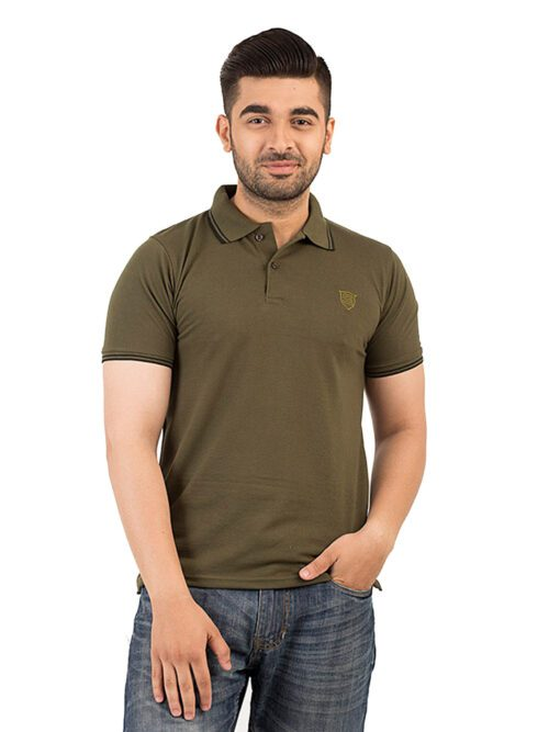 Dark Green Polo T-shirt