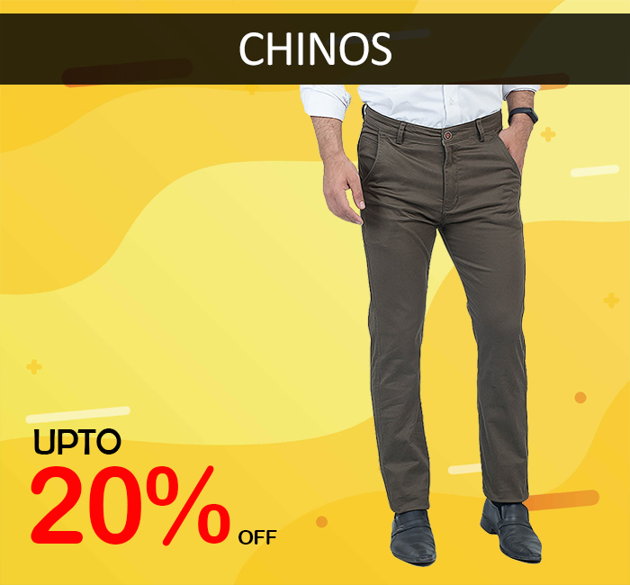 Cotton Chinos on Sale