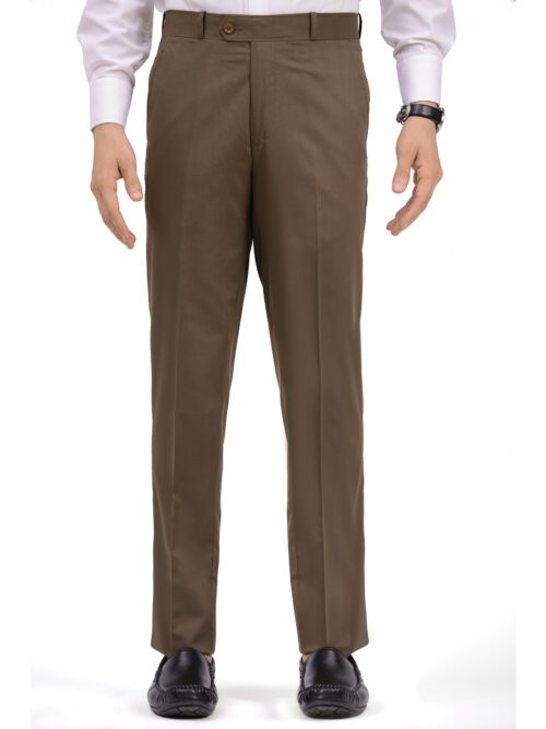 Brown Formal Dress Trouser