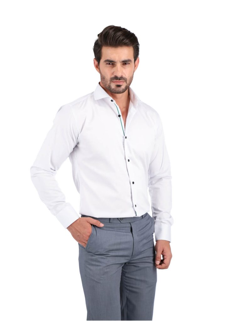 White Semi Formal Shirt