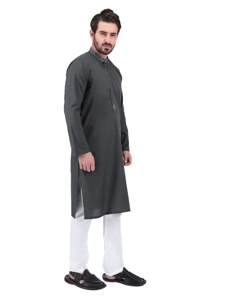 Top 5 Stylish and Elegant Slim Fit Kurta Pyjama for Men, Men's kurta pajamas are perfect for maintaining traditional clothes elegance. Some men kurta design and style never go out of fashion and make anyone look dapper. Whether it is a hot summer day or winter, and casual gathering parties, or formal events, these attire for men are excellent for every occasion. From modern designs to traditional patterns, a stylish designer Kurta Pyjama for men is suitable to spruce up your style look. Today everyone wants to look stylish and beautiful, so they focus their health, physique, and dressing. Therefore who have a good physique texture they choose slim fit clothing to more elegant their body. Though a ready to wear suit makes a man look smart, SS slim fit and regular kurta pajama shalwar can bring out the best change in fashion wardrobe.