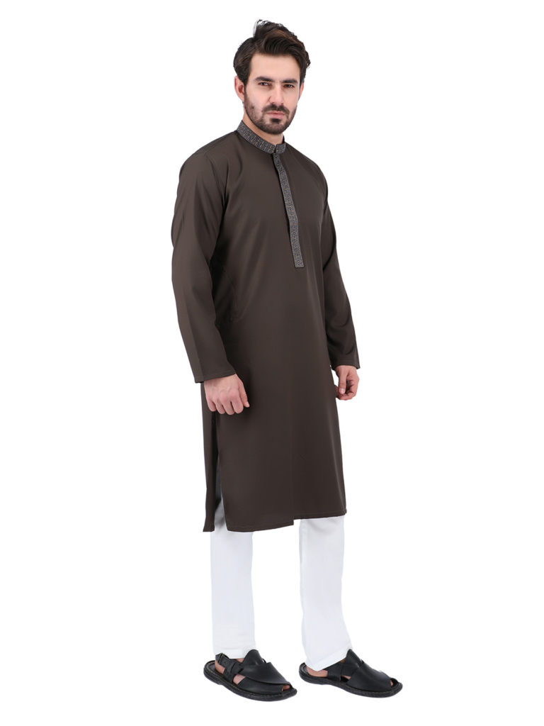 Mens Kurta designs To Style In Different Occasion, Men kurtashalwar has been popular around for decades. These are the best men's clothes that have never fail to make your look good according to your desire! From festive to casual between, a kurtapajama always built its emblem in the world of fashion. Wash n Wear Kurta for men is a fabulous attire for formal to casual events due to its excellent styles. Men in Pakistan and India like to wear designer kurta in many styles. Mostly men like to wear simple cotton kurtashalwar in normal hot days because of its reliable dress so men feel comfortable in this. But if you want to visit a wedding function or formal parties you need stylish menskurta designs to look different from others. Shahzeb Saeed is showcasing some amazing gent kurtapajama designs online which are not for any special event but also for any type of occasion.
