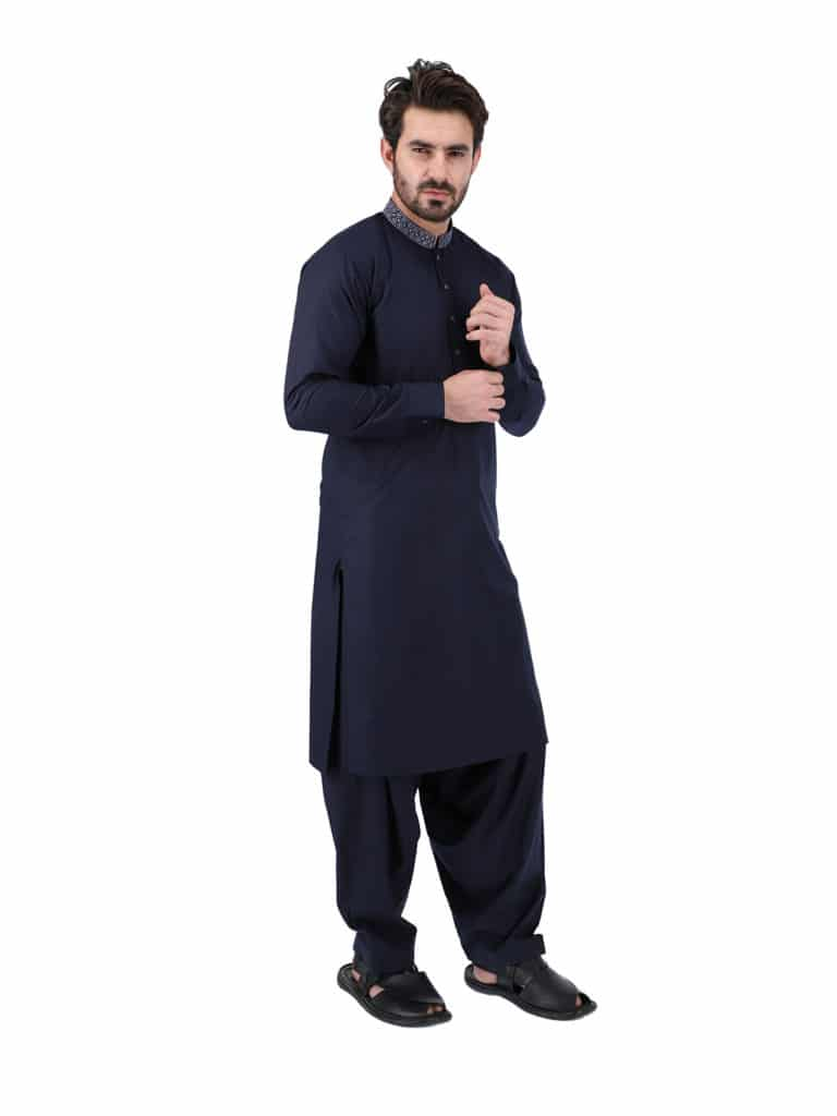 Stylish Men Shalwar Kameez Styles For Gorgeous Look, Are you looking for an awesome collection of men's clothes that make them the center of attraction in the crowd? Men shalwar kameez designs 2020-2021 are excellent just to win your desires come true. Many experienced designers and brands in Pakistan are offering new shalwar kameez styles that are adorned with embroidery, stylish buttons, and much more. There are different leading brands in Pakistan, such as Gul Ahmed, Junaid Jamshed, Khaadi, Nishat, Alkaram, etc that offer stitched ShalwarQameez suits for men that are perfectly designed according to the latest fashion trends.  Shahzeb Saeed is one of the best Pakistani brands which exposes such designs for kameez shalwar that flaunt your looks and give maximum attraction to your personality. KamizShalwar is one of the striking and finest staples in every Pakistani women and men's wardrobe.