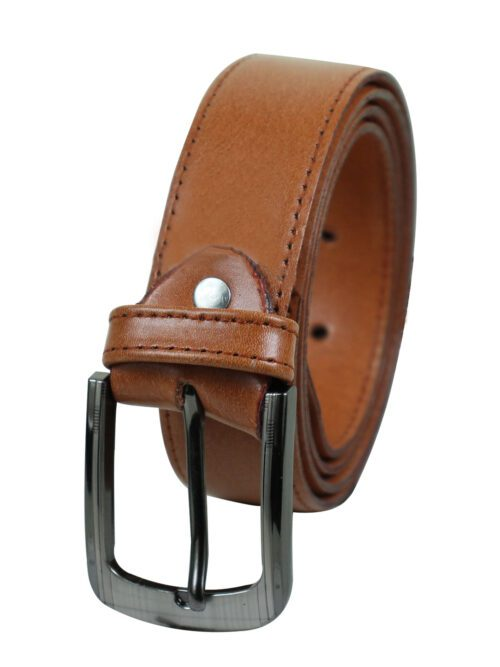 Fawn Leather Belt