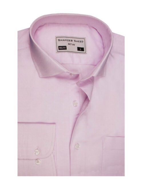 Pink Dress Shirt for Men