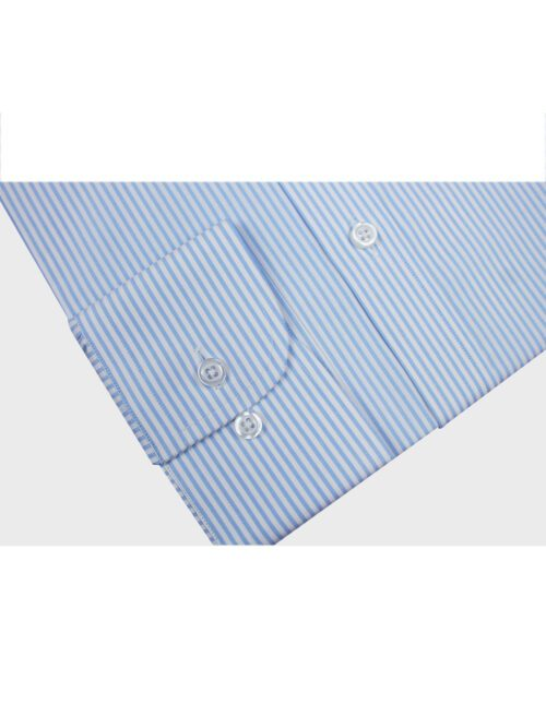 light blue stripped formal shirt