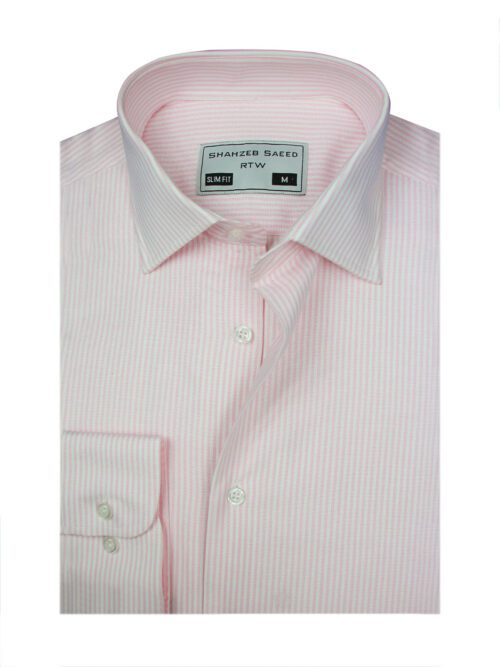 light pink stripped dress shirt