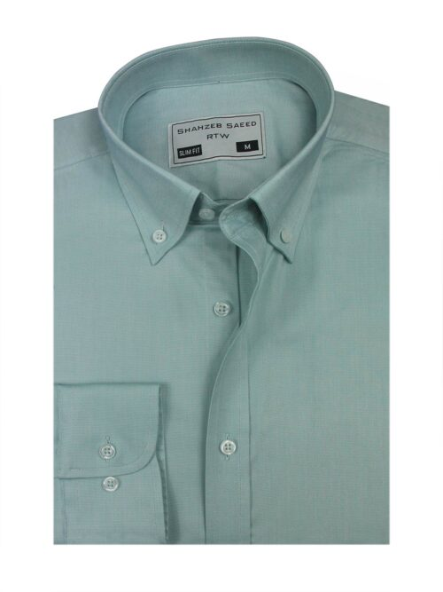 Pistacho PLain formal shirt