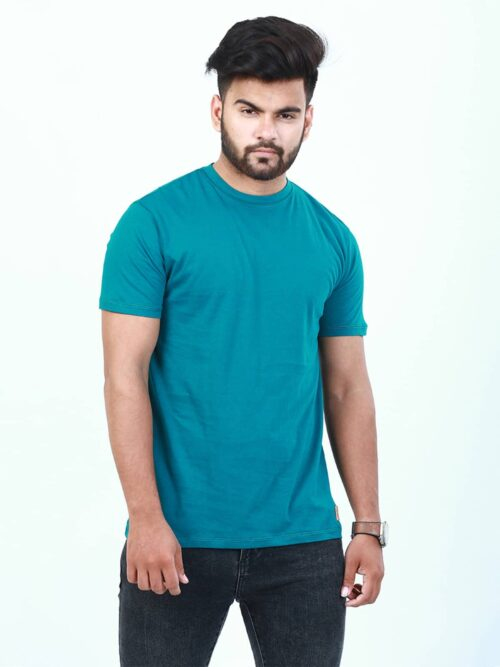 Sea green t-shirt