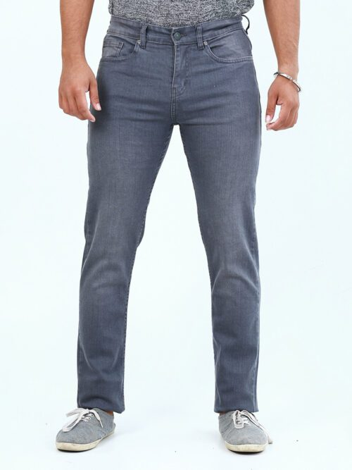 Grey denim jeans