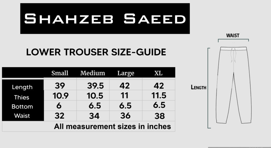 Lower Trousers
